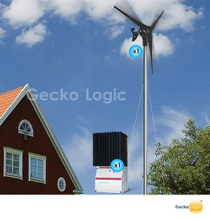Wind turbine generator kit
