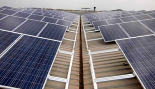 Installation Industrial Solar Panels