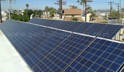 Installation Commercial Solar Panels