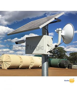 Solar powered CCTV camera system