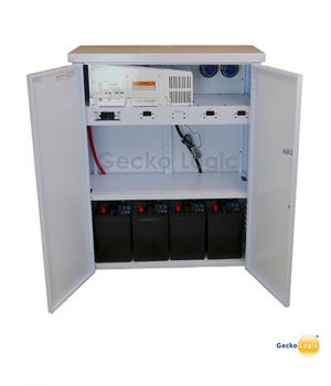 Backup battery system & automatic transfer switch
