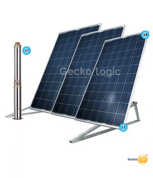 Solar water well pump kit