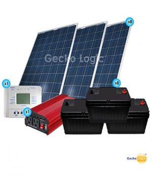 Independence from the grid solar kit