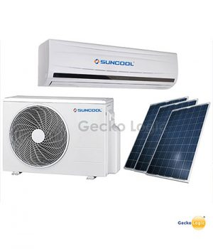 Solar powered minisplit air conditioner